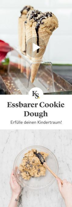 Essbarer Cookie Dough | Rezept mit Video | Kitchen Stories