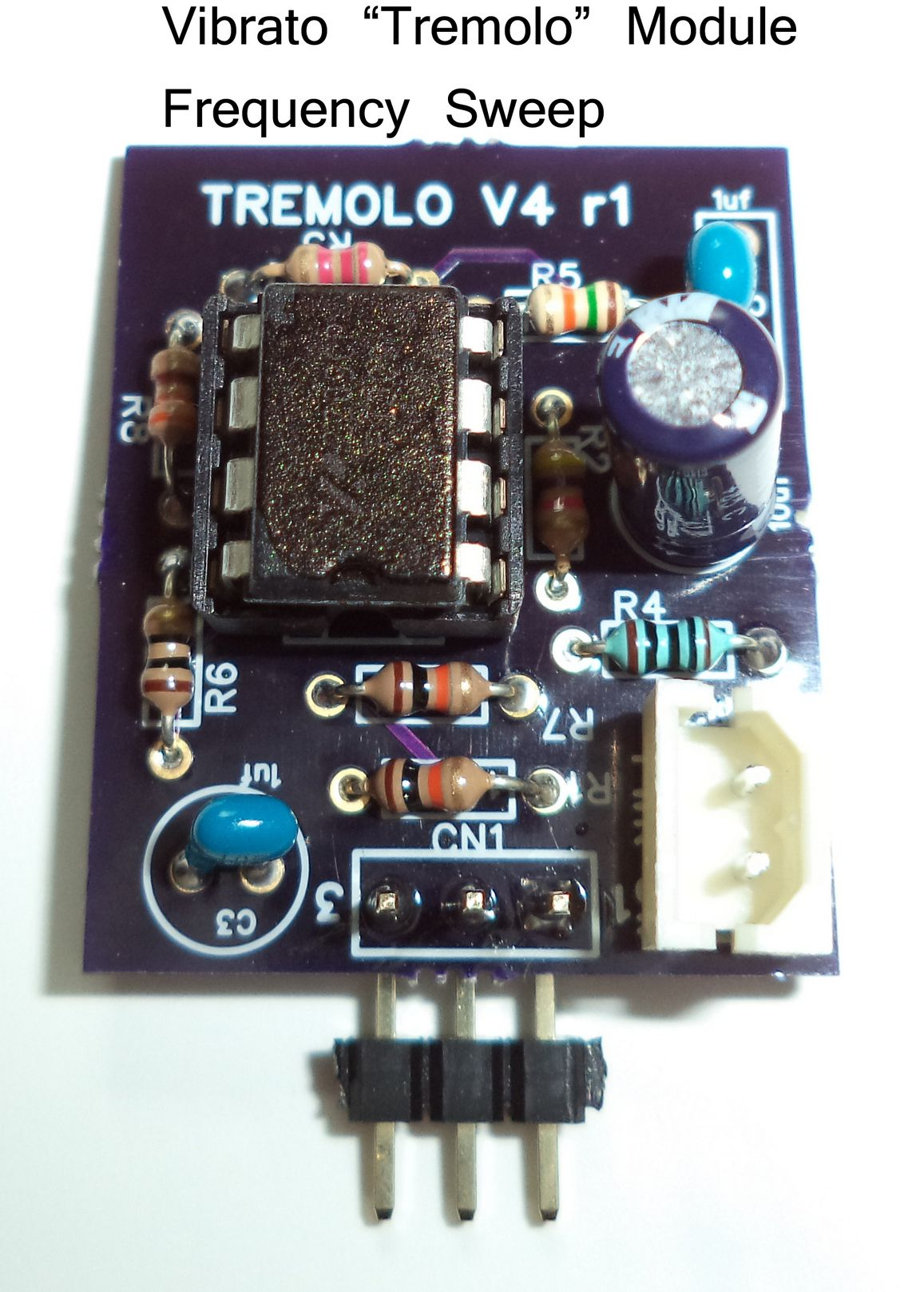 Ultrasonic Tremolo Frequency Sweep Module Plugs Into The Vibrato Generator Circuit And Buy To Provide Function Which Prevents Standing Waves