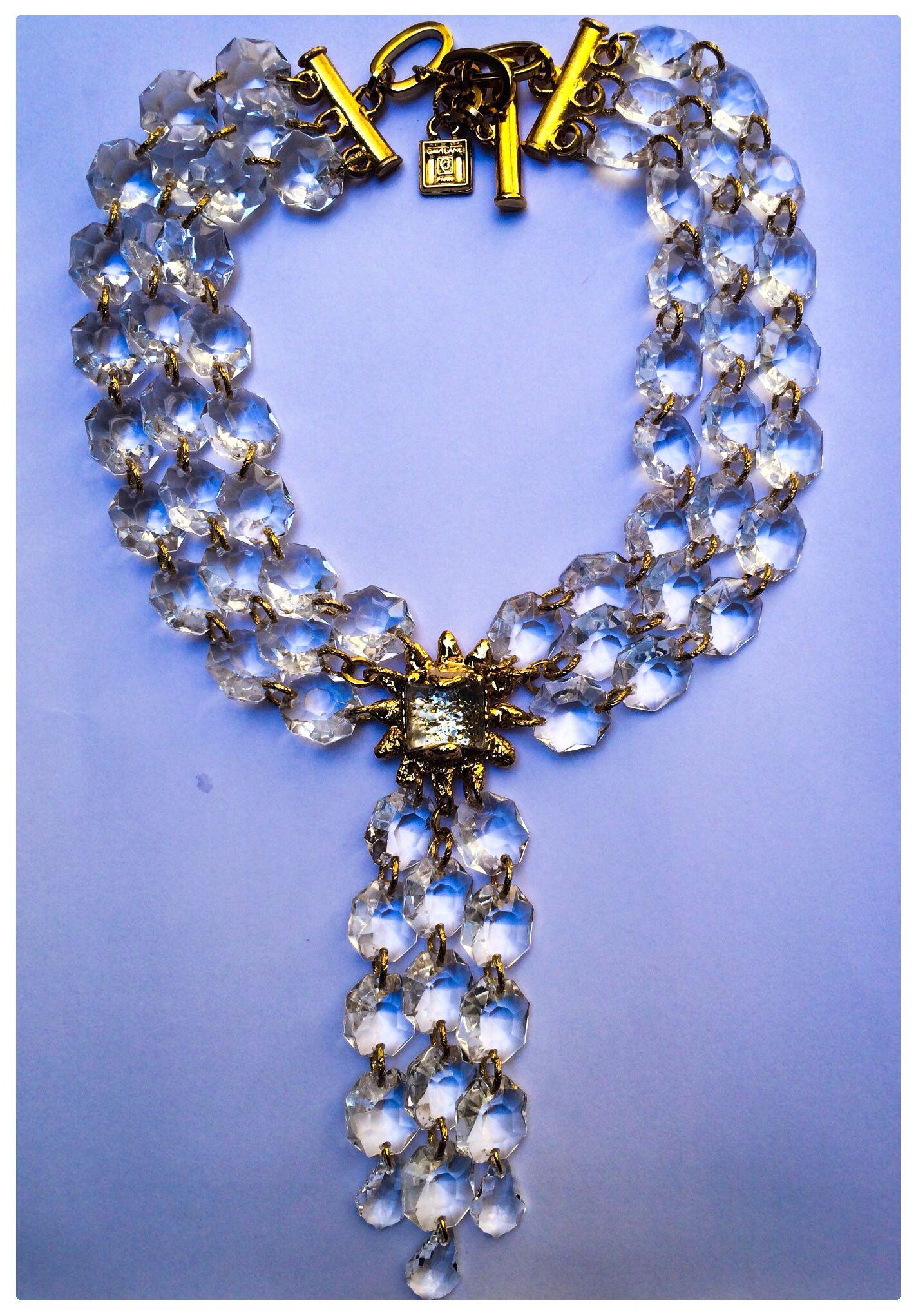 Collier Dark Cristal Gavilane Paris Bijoux Haute Couture