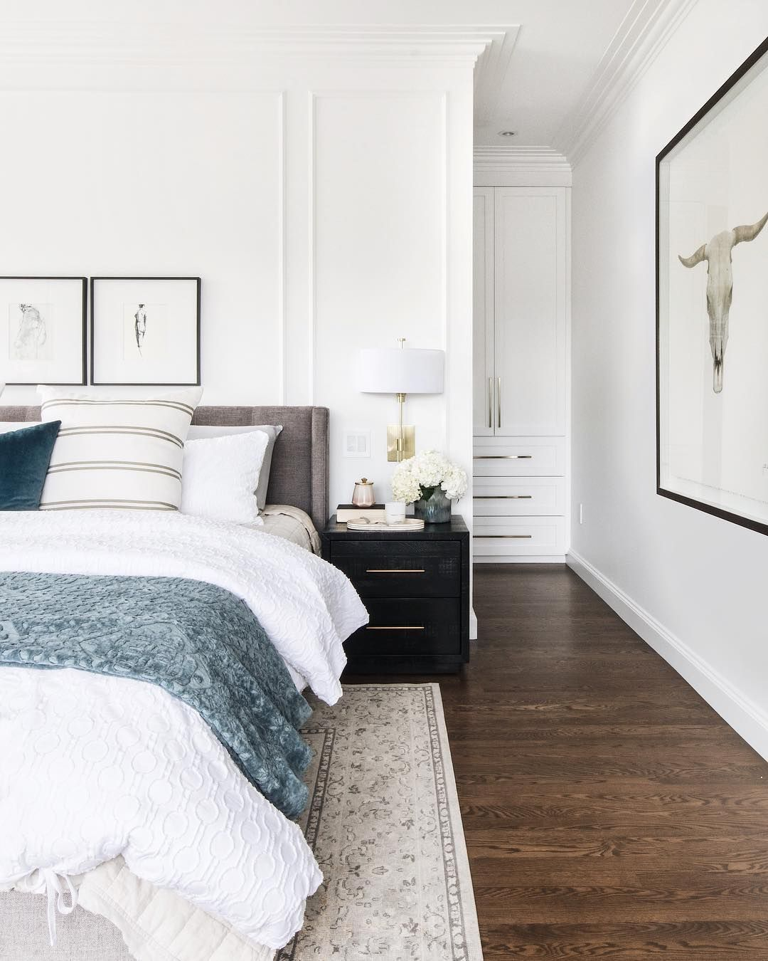 Leclair Decor On Instagram When We First Showed You Guys This Room Many Of You In 2020 Modern Master Bedroom Design Master Bedroom Inspiration Modern Master Bedroom