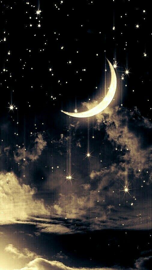 Croissant De Lune Fond D Ecran Telephone Photo Paysage Magnifique Fond D Ecran Colore