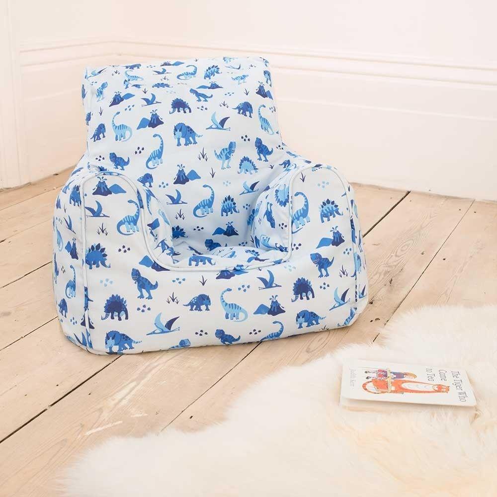 Dinosaur Print Bean Bag Chair Bean Bag Chair Childrens