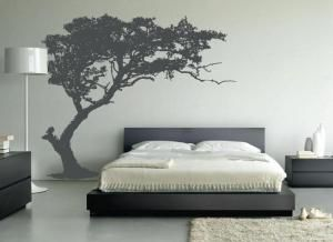 Does Your Bedroom Have a Big, Empty Wall  Here's how to Decorate It  is part of How To Fill A Big bedroom - Does your bedroom have a large, empty wall  A big painting isn't the only option  here are four more ideas for decorating a blank wall