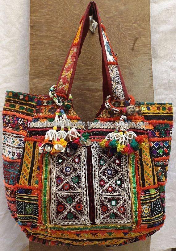 Genuine Embroidered Vintage Tribal BOHO elegant evening bag shoulder bag handbag