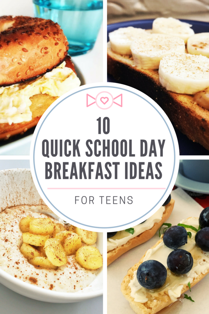 Breakfast Ideas For Teens Quick Healthy Breakfast Eat Breakfast Quick Breakfast