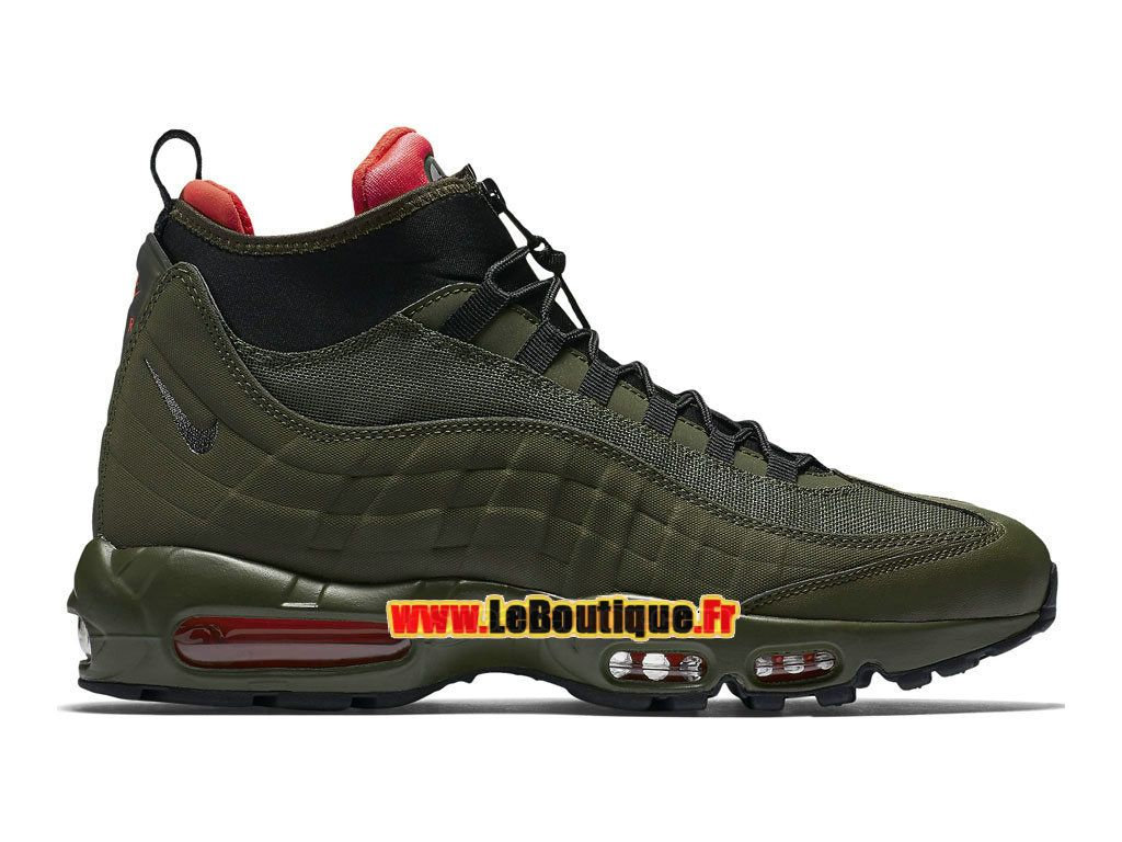 Nike Air Max 95 SneakerBoot - Botte Nike Pas Cher Pour Homme Loden  sombre/Kaki