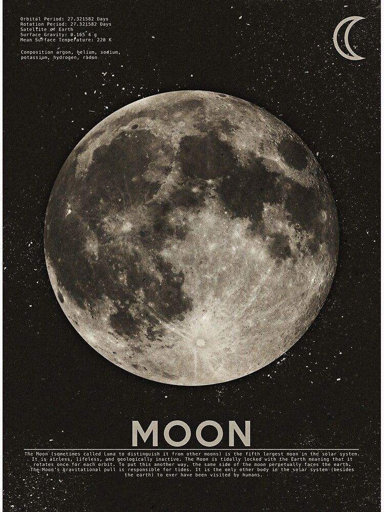 590+Moon Art Print by heatherlandis