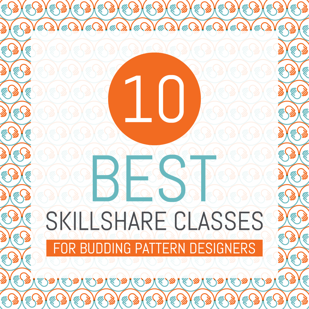 10 best Skillshare classes for budding pattern designers | Pitter Pattern