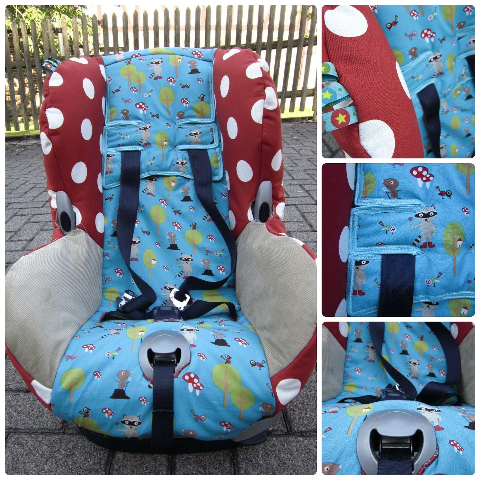 Nadelzauber: Ein Neuer Bezug Für Den Auto-Kindersitz (mit