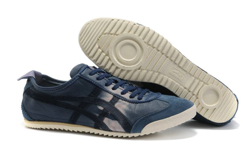 best service 5cd26 eb773 Onitsuka Tiger Mexico 66 Deluxe Dark Blue/Black | happy feet ...