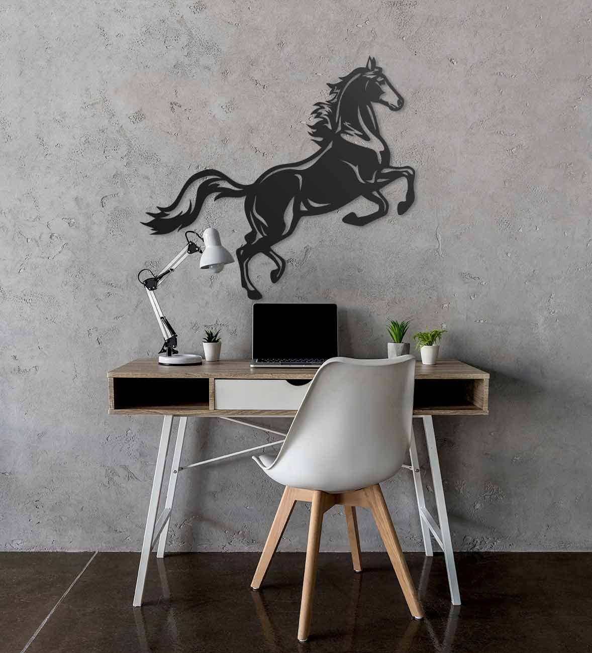 Wooden Wall Horse Prancing Horse Geometric Wall Animals Etsy In 2020 Geometric Wall Home Wall Decor Wood Wall