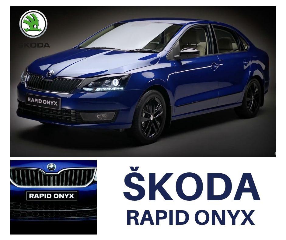 Skoda Rapid Onyx Skoda Car Dealer Luxury Sedan