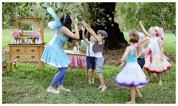 Fairy Party Games Parachute Fairy Parties Fairy Birthday