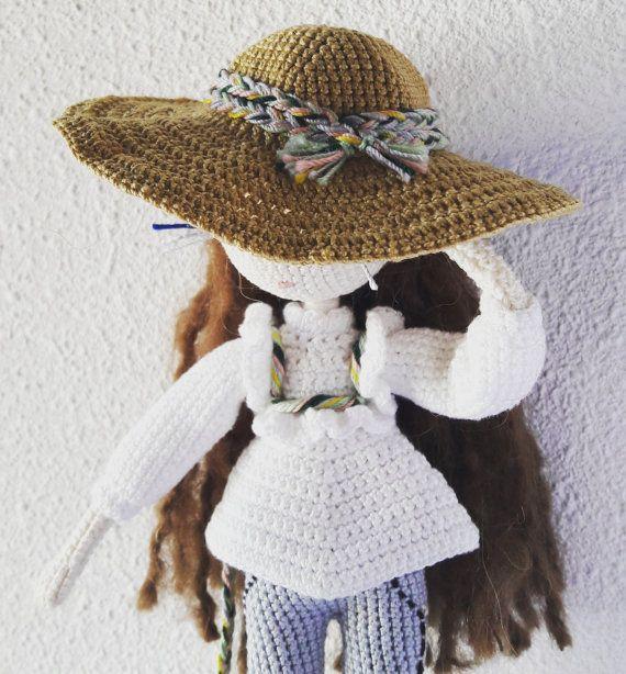 Mariette - Crochet dol pattern | Muñecos de ganchillo, Muñecas y ...