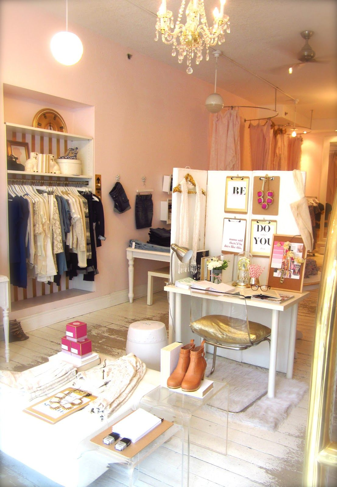 Inside Out Boutique Decor Shop Layout Boutique Interior