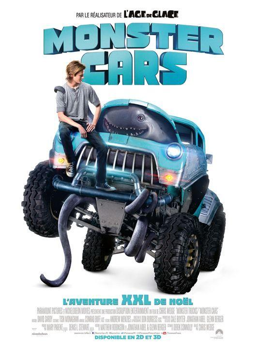 Monster Cars, l'amitié Monstre [+Concours]   Monster car, Lucas till