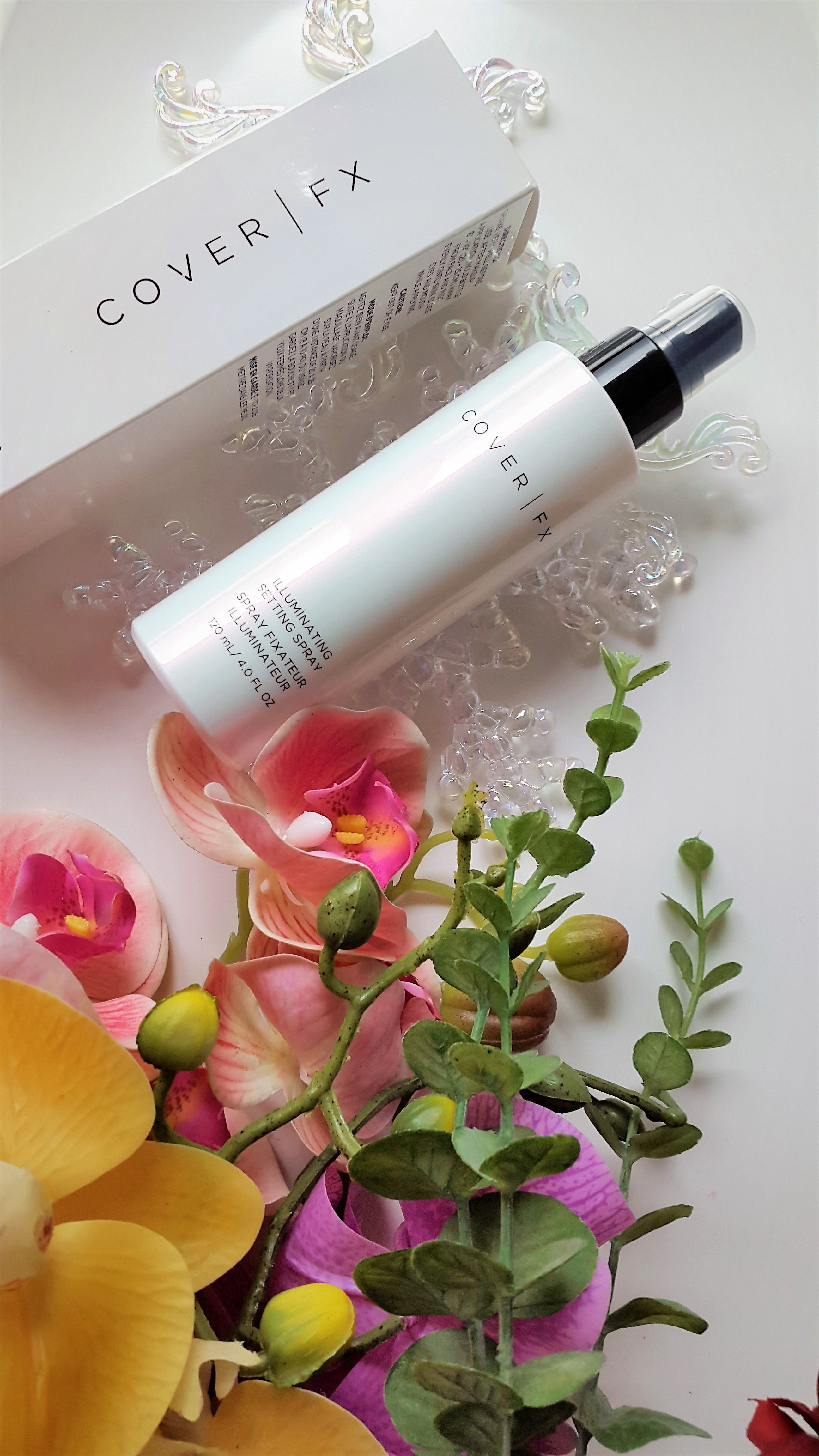 Cover FX Illuminating Setting Spray Review POST YOUR