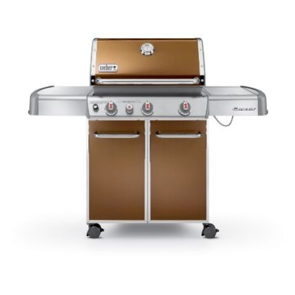 Weber Genesis E 330 Copper Lp Gas Grill With Images Best Gas