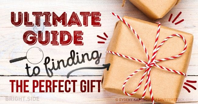 Your ultimate guide tofinding the perfect gift