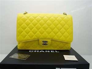 Chanel neon in lambskin