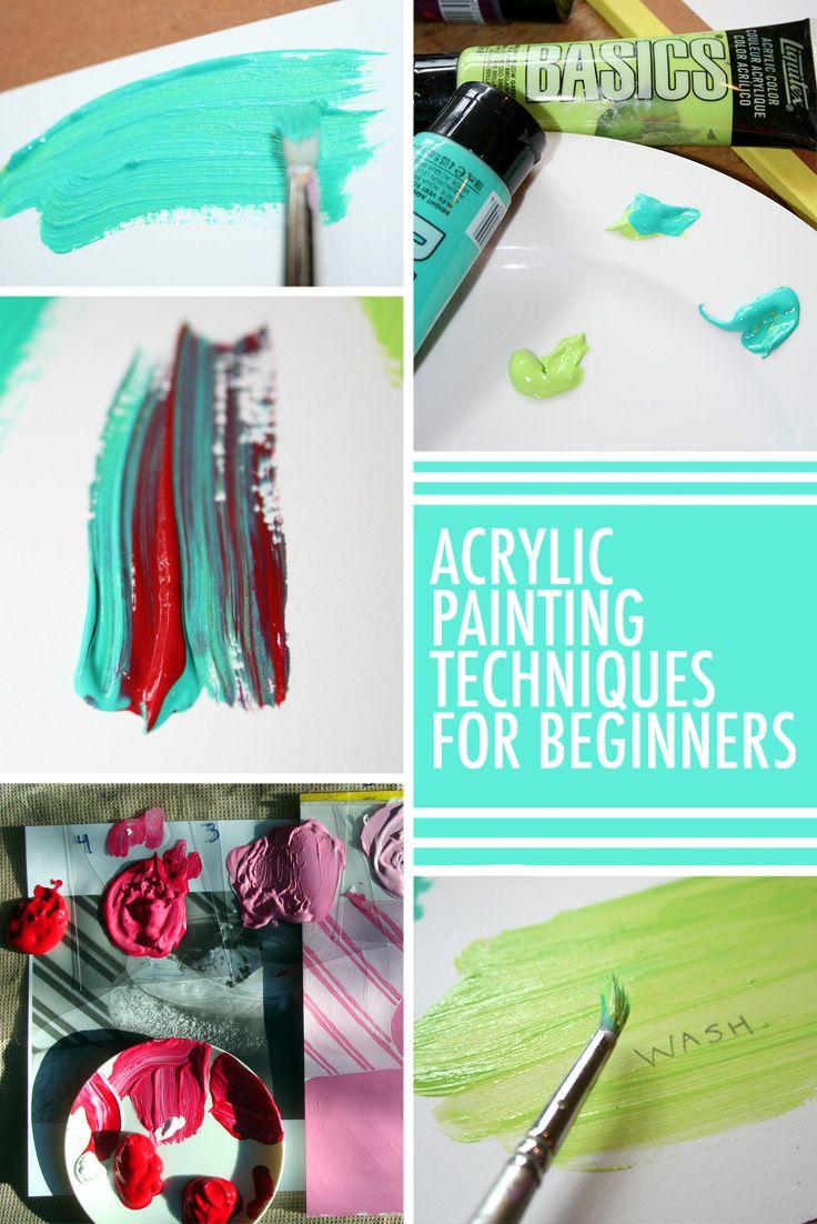 Akryl maleri for begyndere