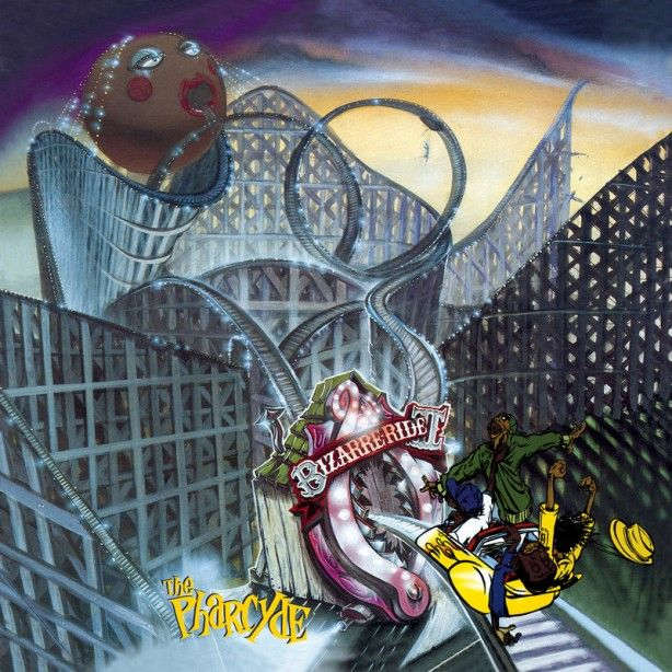 Album Cover Art Of The Week Bizarre Ride To The Pharcyde The