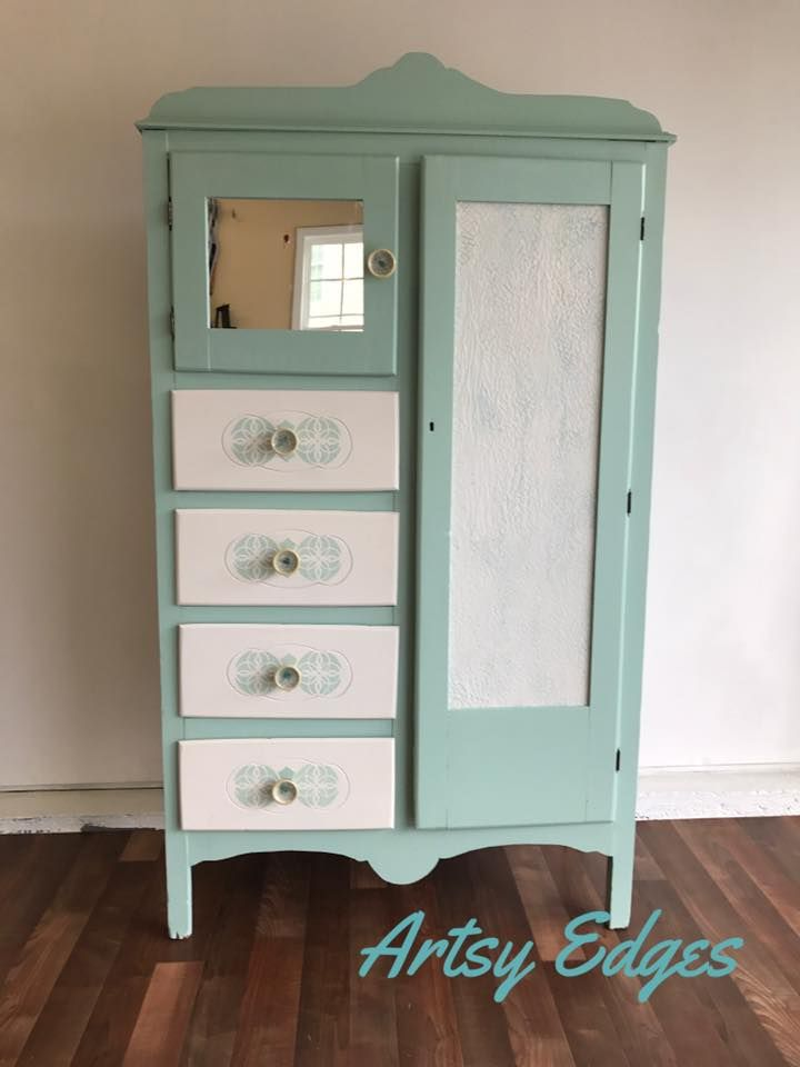 Belinda Nero Florada Did This Piece In Dixie Belle Sea Gl And Fluff Love The Paint As It Is So Easy To Work With