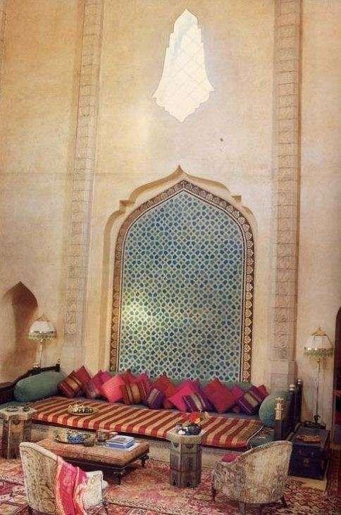 Arredare un terrazzo in stile marocchino | Saloni ...