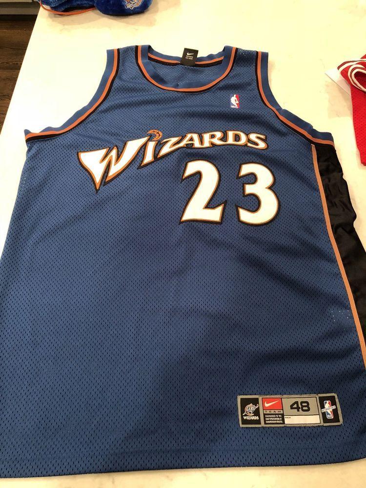 6f82359e2 eBay  Sponsored Washington Wizards Authentic Michael Jordan Jersey Early  2000s Rare Vintage