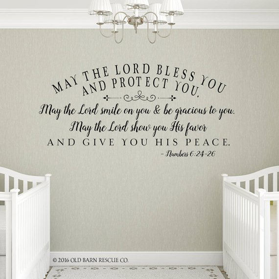 Church Wall Decal Bible Verse Vinyl Quote Youth Room Nursery