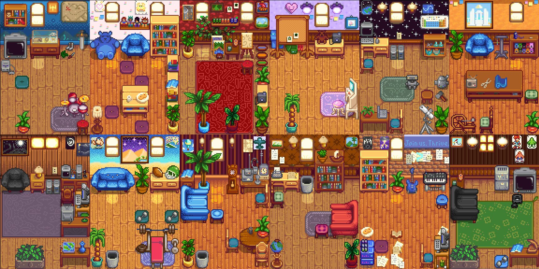 Content Patcher) Spouse Rooms Redesigned at Stardew Valley