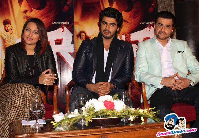 Tevar Press Conference -- Sonakshi Sinha, Arjun Kapoor and Sanjay Kapoor Picture # 292907