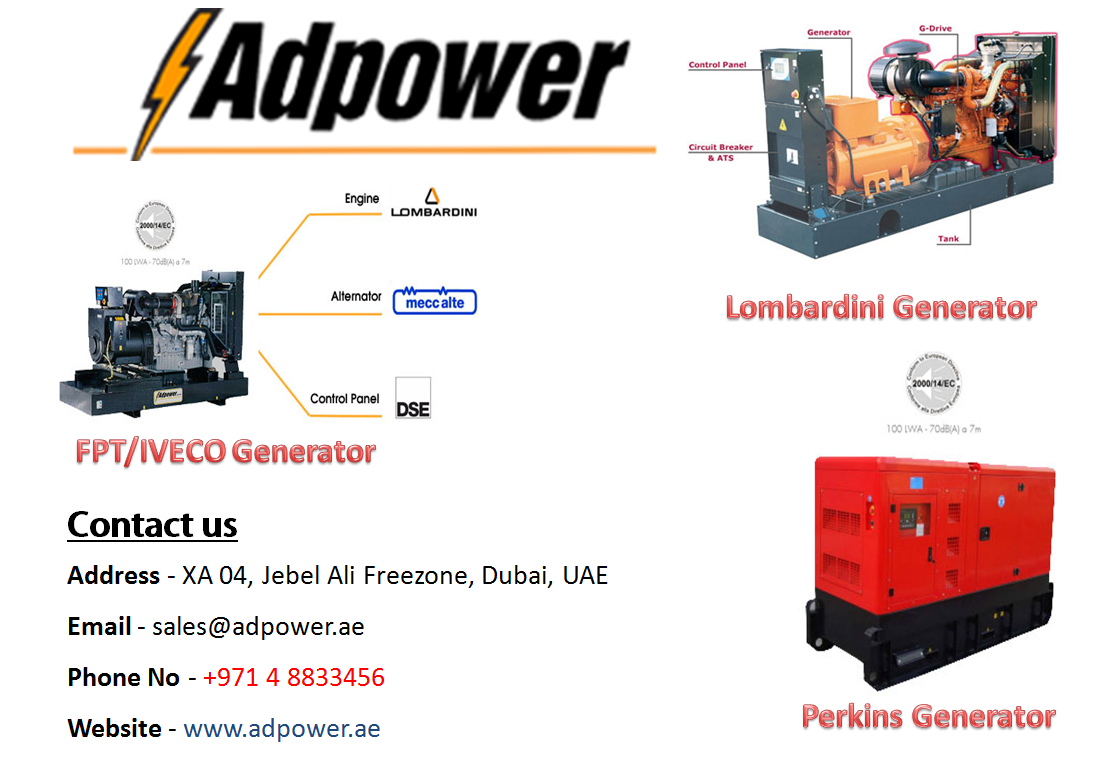 cat generator supplier in uae