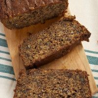 Rich chai caramel is swirled through this banana bread for an amazingly good twist on traditional banana bread.