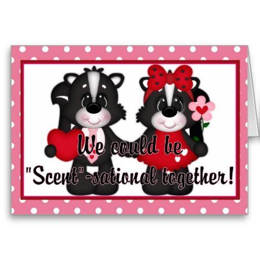 Scent-sational Together Valentine Greeting Card