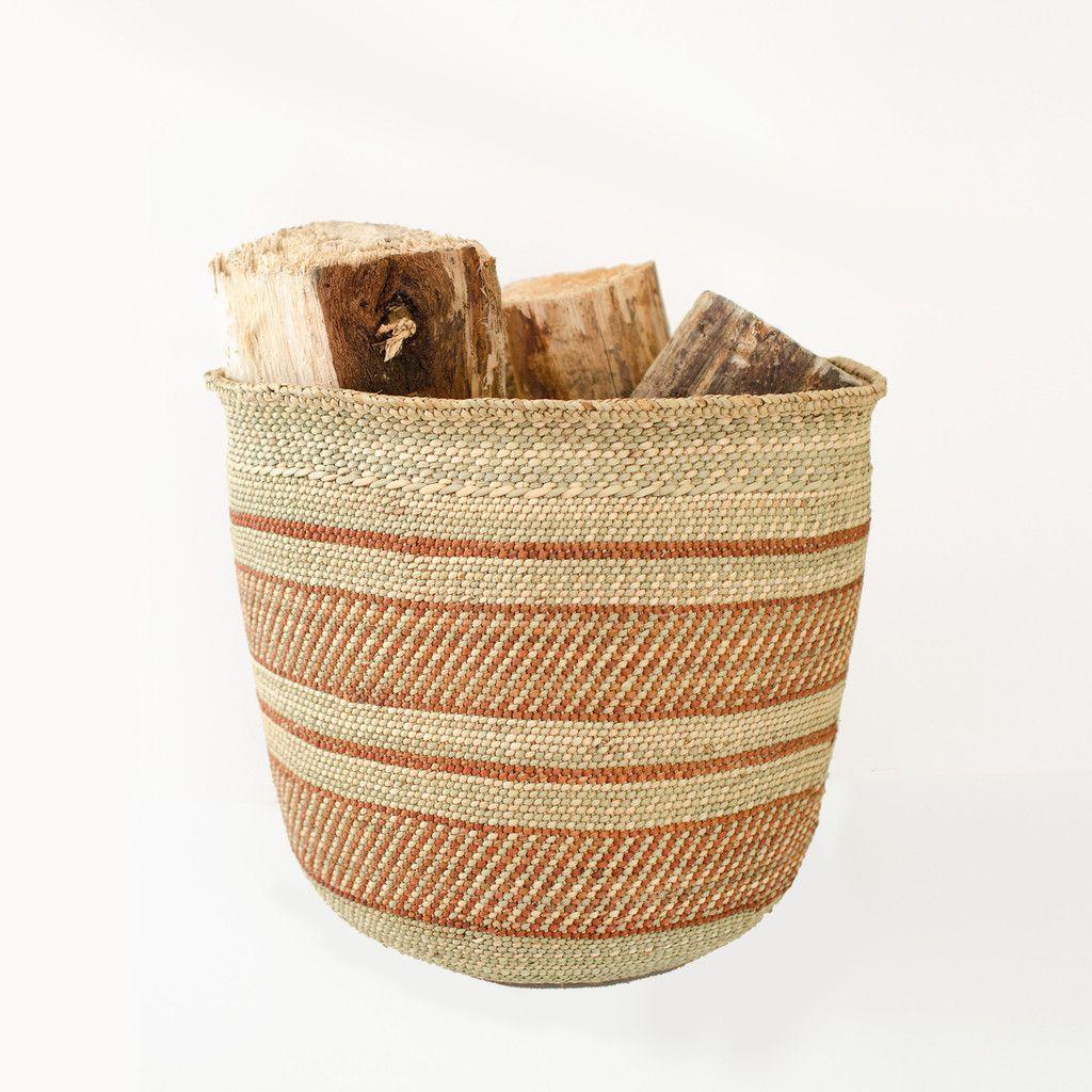 Brown nico basket vogue living storage baskets and traditional
