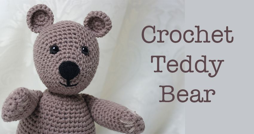 Free Crochet Teddy Bear Pattern | Crocheted animals | Pinterest | Osos