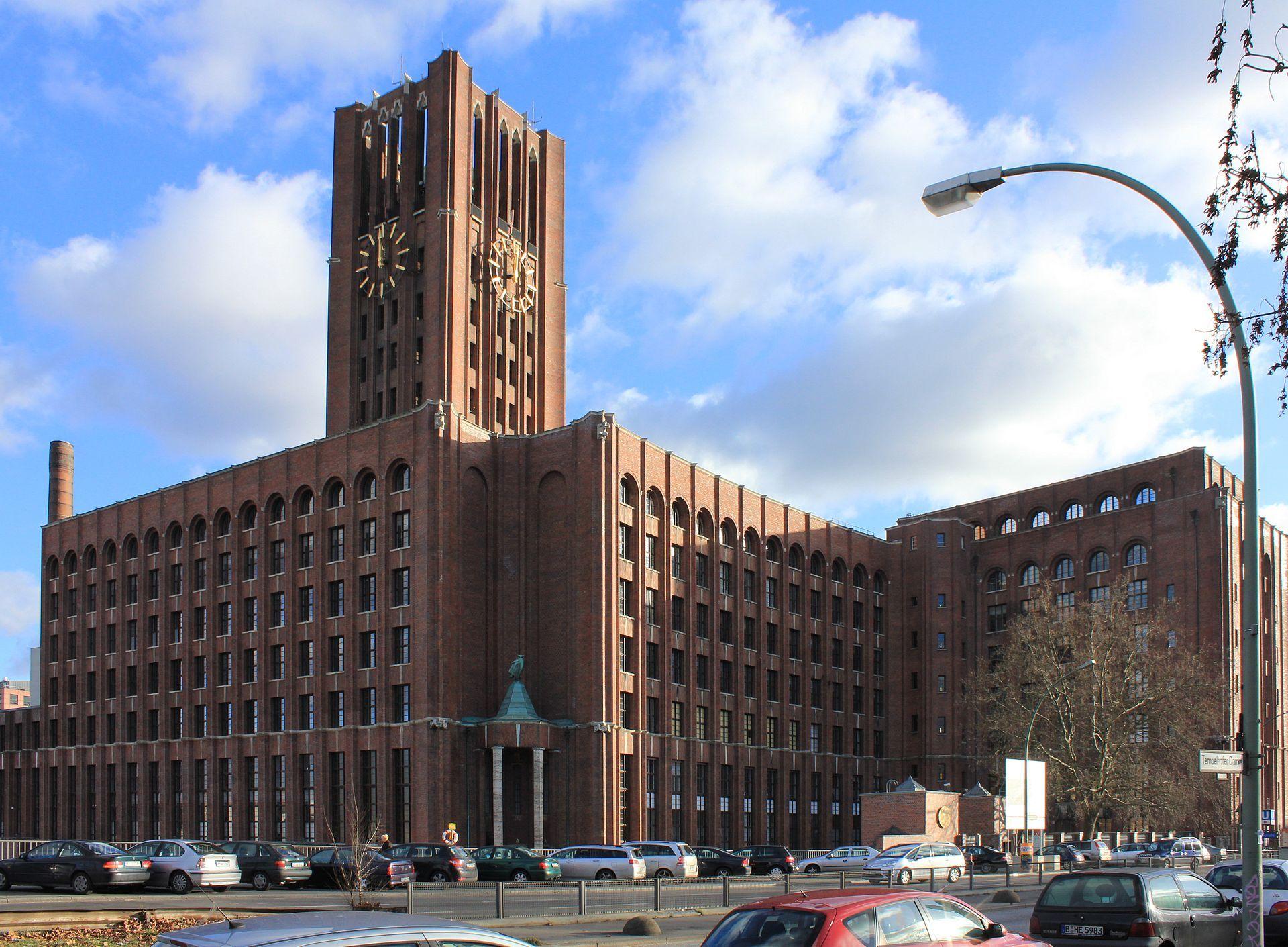 Expressionismus Architektur: 09055109 Berlin Tempelhof, Mariendorfer Damm 1-3 006
