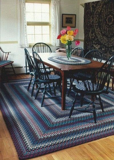 Dining Room Braided Rug I M Going To Braid A Rug To Go