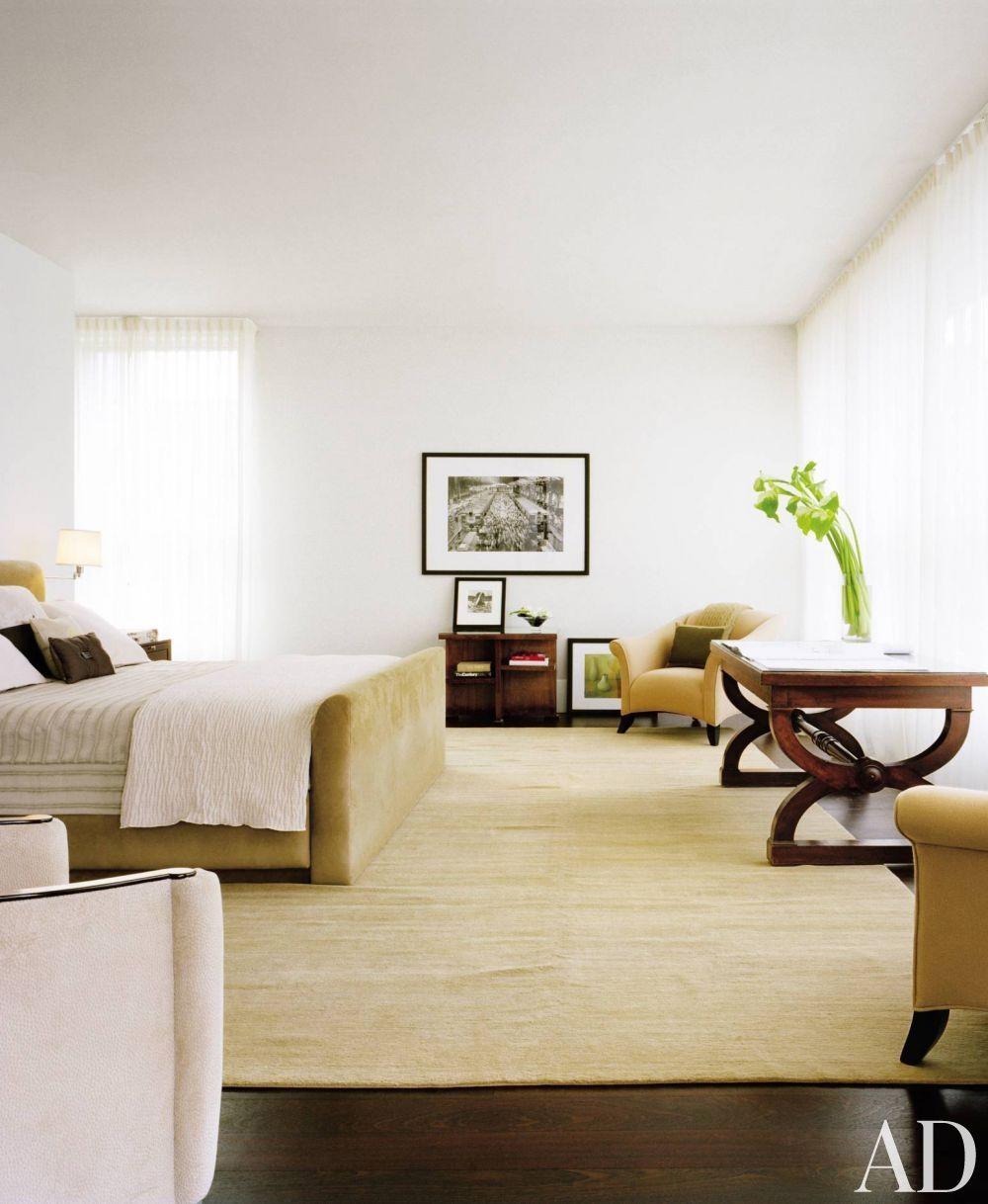 Modern bedroom by jennifer post in new york city