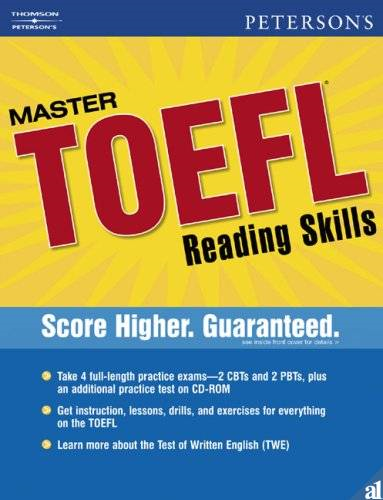Ebook Peterson S Master Toefl Reading Writing Skills Pdf Toefl Writing Writing Skills English Reading Skills