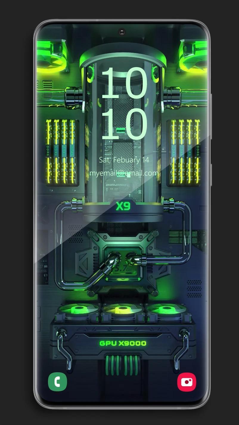 X9 Gaming PC RGB 4 - Video Wallpaper