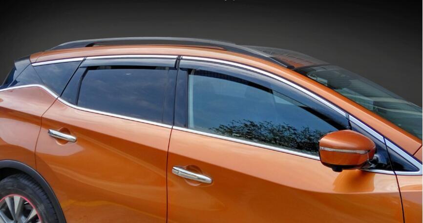 Chrome Window Visors Vent 4p for 2008 2016 Chevy Cruze 4DR Sedan