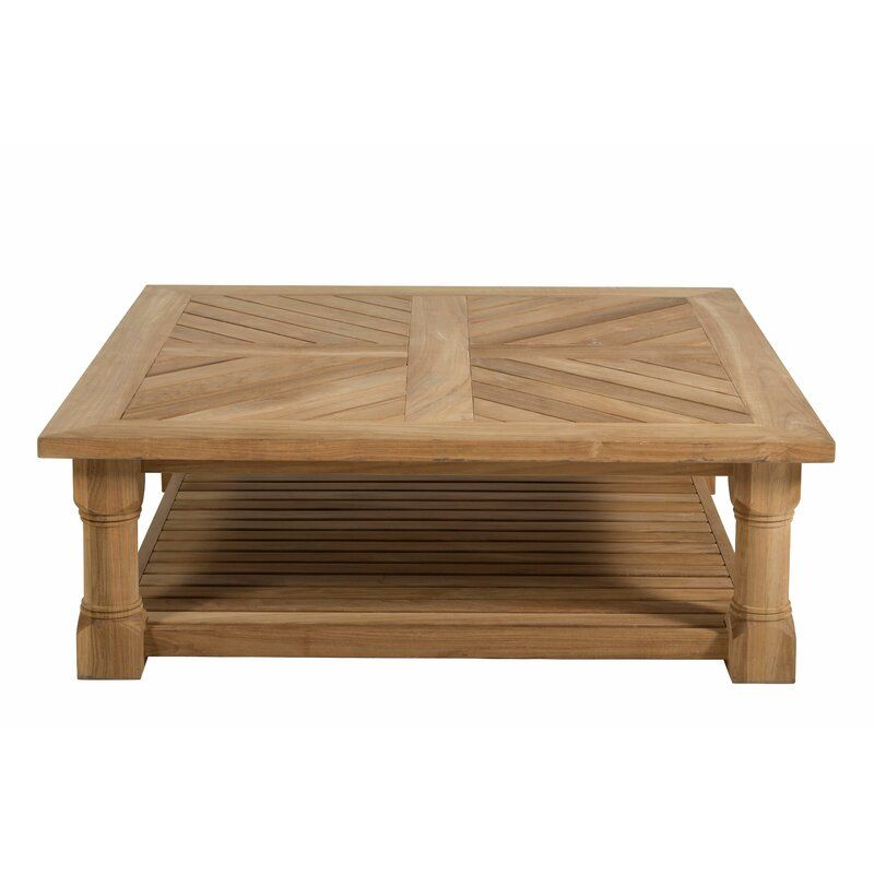 Lakeshore Teak Coffee Table | Teak coffee table, Outdoor ...