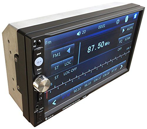 Suncer 2 Din 7 Inch Touch Screen Car Radio Player Support Bluetooth