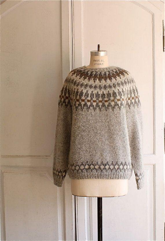 старинный скандинавский свитер