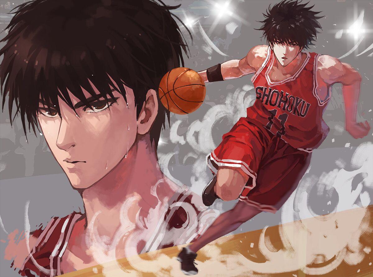 Rukawa Kaede from slam dunk. Anime dos anos 90, Anime