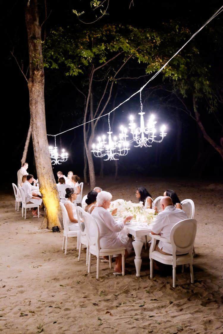 a2db3d0ffe3b All White Beach Wedding in Costa Rica | Virador Beach at Four ...