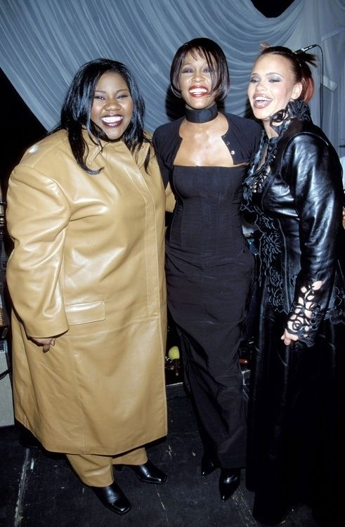Faith Evans Kelly Price And Whitney Houston With Images