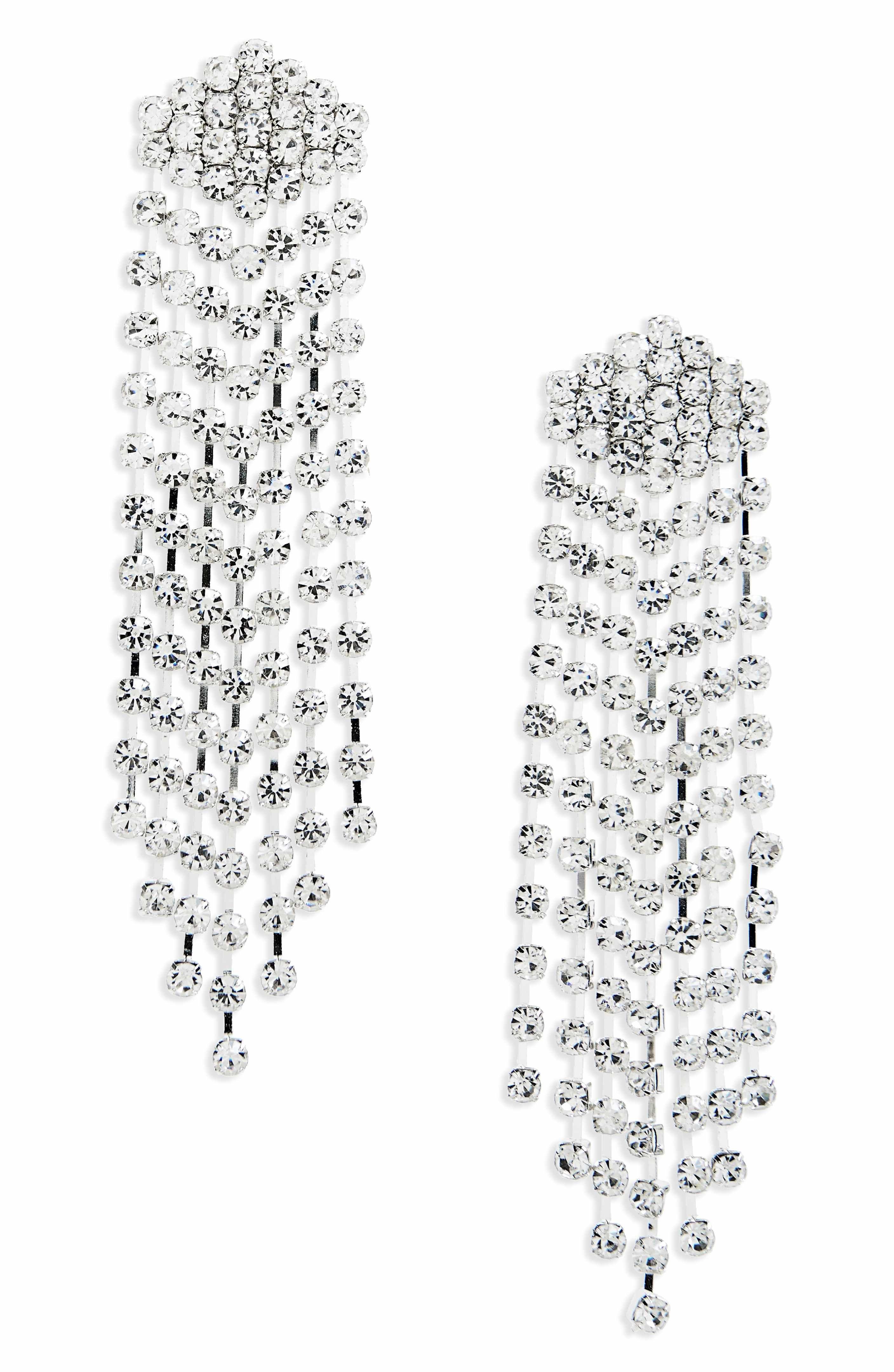 Natasha crystal chandelier earrings talk about statement earrings natasha crystal chandelier earrings talk about statement earrings spotted nordstrom arubaitofo Choice Image